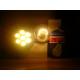 E27 7W šiltai balta LED lemputė