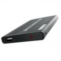 2.5 colio SATA išorinis USB 2.0 HDD dėklas