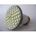 E27 3W šiltai balta SMD3528 LED lemputė