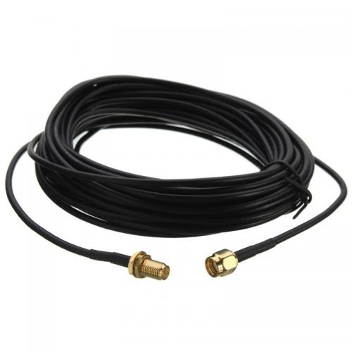 Antenos RP-SMA kabelis WiFi 3 m
