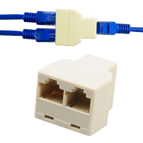 RJ45 Tinklo kabelio šakotuvas 1 į 2