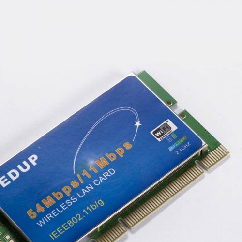 PCI 54Mbps 202.11b /g WiF bevielis LAN kortelės siejiklis