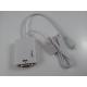Micro USB MHL To VGA + Audio 5 pin