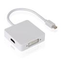 3-in-1 Mini Displayport (HDMI, DVI, DisplayPort)