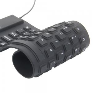 Silikoninė USB klaviatūra