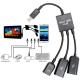 Dual Micro USB Host Hub