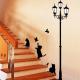 Lipdukai sienai Katės