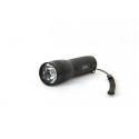 LED žibintuvėlis atitinka 20W kaitrinę lemputę