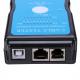 Laidų testeris (USB ir tinklo kabelių RJ45, RJ11)