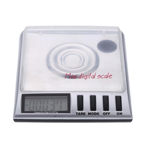 Skaitmeninės svarstyklės 0.001 - 20 g