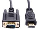 HDMI į VGA Kabelis 1.8 m