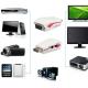 1080P HDMI į VGA vaizdo konverteris adapteris + USB maitinimo audio laidas