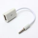 3.5 mm AUX garso jungtis į USB