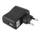 EU 220V USB įkroviklis