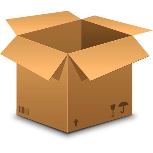 Dėžutė, siunta nuo 500 iki 1 kg. (max 30x30x30cm)
