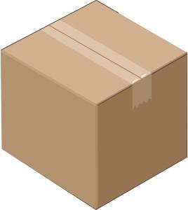 Pašto siuntinys, siunta nuo 2 iki 10 kg. (max 50x50x50cm)